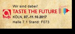 anuga Messe in Köln vom 7.-11.10.2017