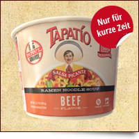 Tapatio Ramen Noodles Beef